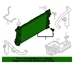 Radiator - Ford (CL3Z-8005-C)