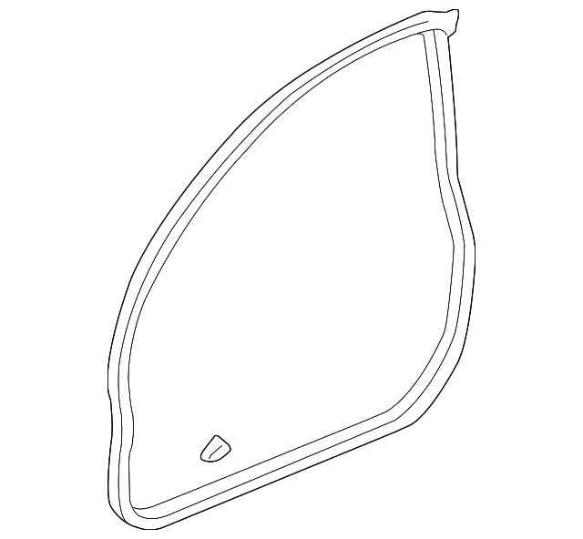 2004-2008 Acura TSX SEDAN Sub-Seal, L Front Door 72365-SEA
