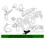 Turbocharger Support - BMW (11-65-7-647-331)