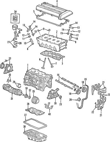 D B D Fd D F Eb E F Bb on Honda Cr V Timing Belt Diagram