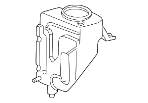 Washer Reservoir - Mercedes-Benz (210-869-09-20)