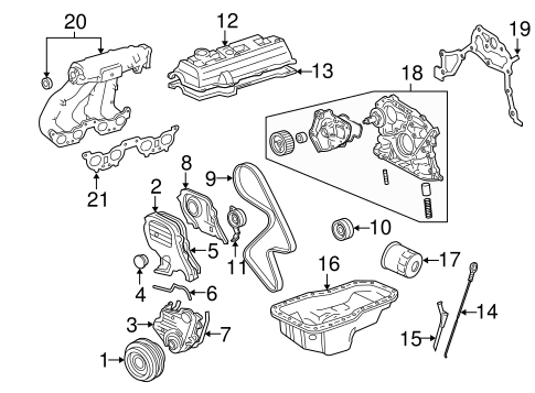 Engine Parts for 2001 Toyota Solara | Frank Toyota PartsFrank Toyota Parts