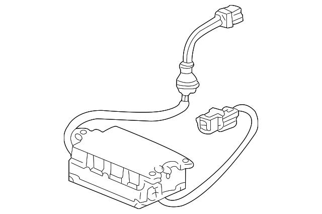 1999 2004 Acura Rl Sedan Inverter Hid System 33144 Sz3 A01