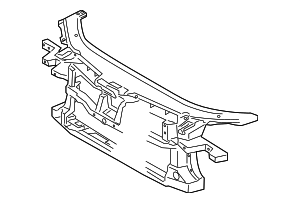 Radiator Support - Volkswagen (3C0-805-588-J)