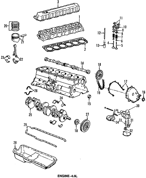 engine for 1994 jeep grand cherokee