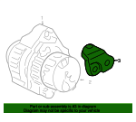2003-2007 Honda Stay Alternator - Honda (31113-RCA-A00)