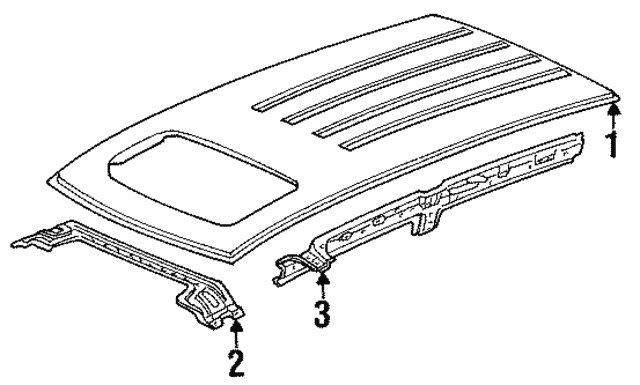 Side Rail - Isuzu (5862033880)
