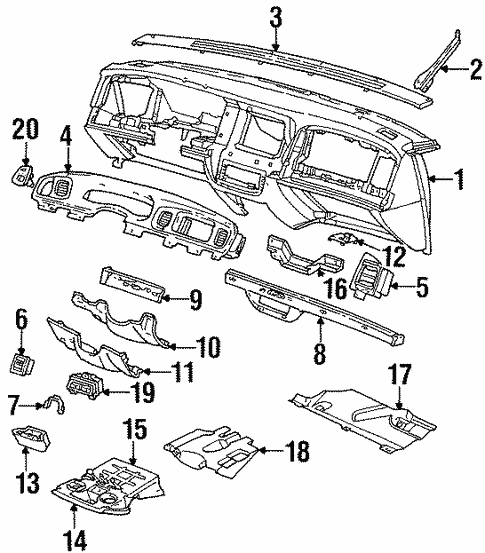 Switches For 1997 Ford Crown Victoria