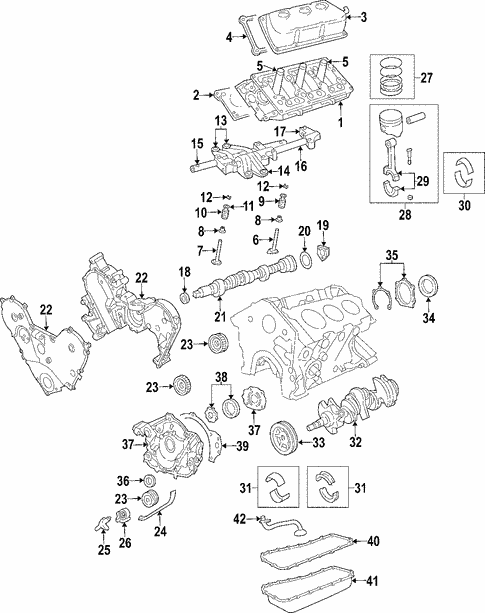 engine for 2005 chrysler pacifica