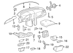 Lower Trim - Mercedes-Benz (202-680-03-88-5076)
