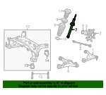 Shock Absorber - Jaguar (XR836883)