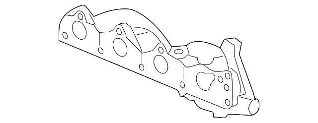 2004 2008 Gm Exhaust Manifold 12581284