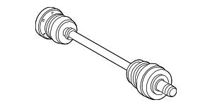 Axle Assembly - Mercedes-Benz (210-350-06-02)