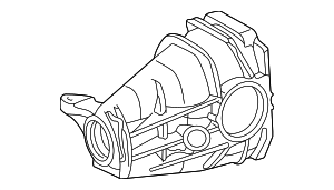 Axle Housing - Mercedes-Benz (210-351-08-05)