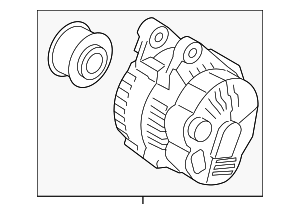 Alternator - Hyundai (37300-2E800)