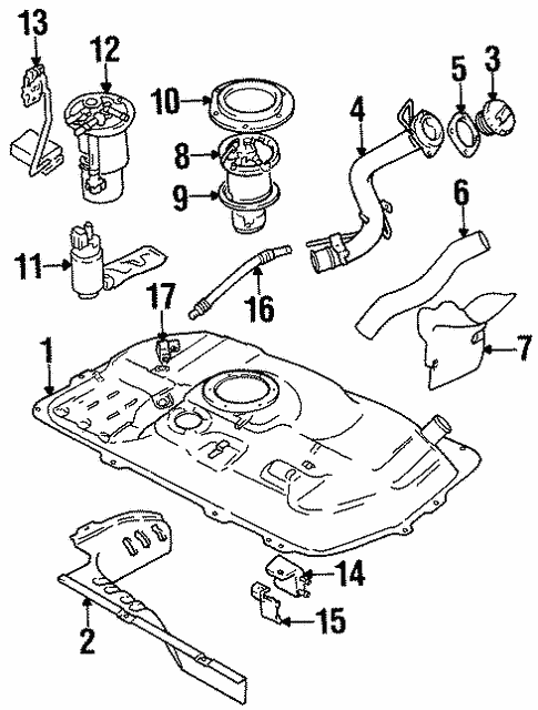 Oem Fuel System Components For 1999 Chevrolet Metro
