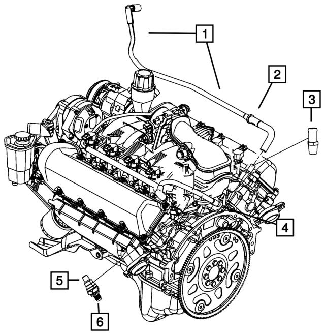 2006 2017 mopar pcv valve and housing 53032925ac qualitymoparparts Dodge Viper Rims pcv valve and housing mopar 53032925ac