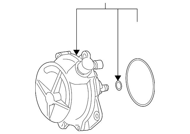 Audi Vacuum Diagram