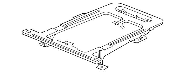 Honda Genuine 77295-SCV-A00ZZ Center Console Frame
