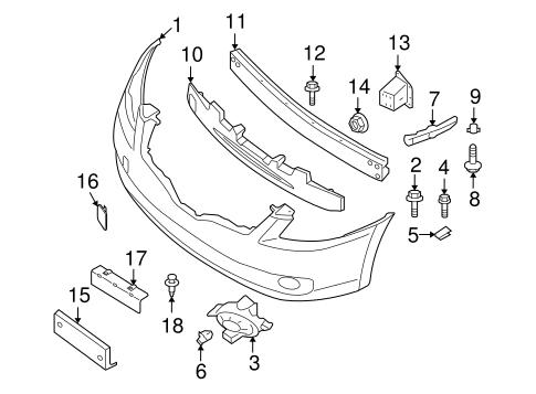 2009 Nissan Altima Parts Diagram