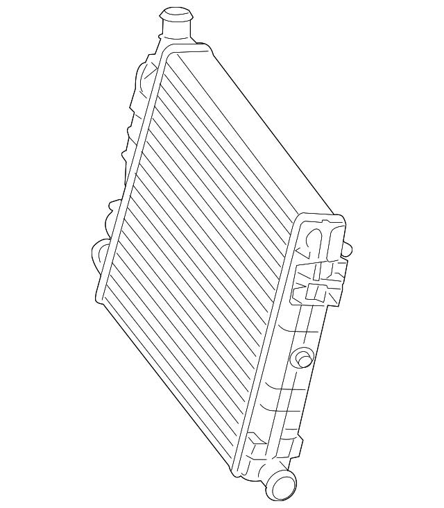 2008 2015 Audi R8 Auxiliary Radiator 420 121 252 B