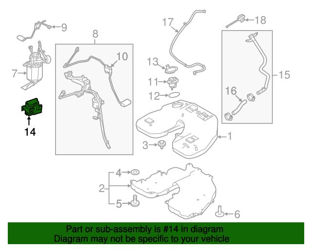 2013 2018 land rover fuel pump controller lr039218 evinrude fuel pump fuel pump controller land rover (lr039218)