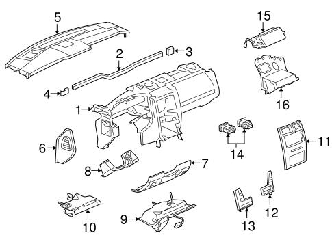 Instrument Panel For 2009 Cadillac Xlr