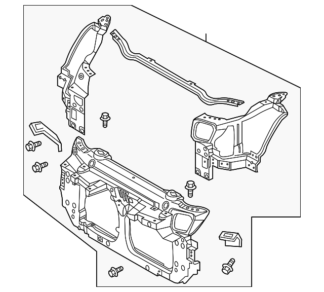 Radiator Support Nissan 62500cd700: 2005 350z Engine Diagram Radiator At Sergidarder.com
