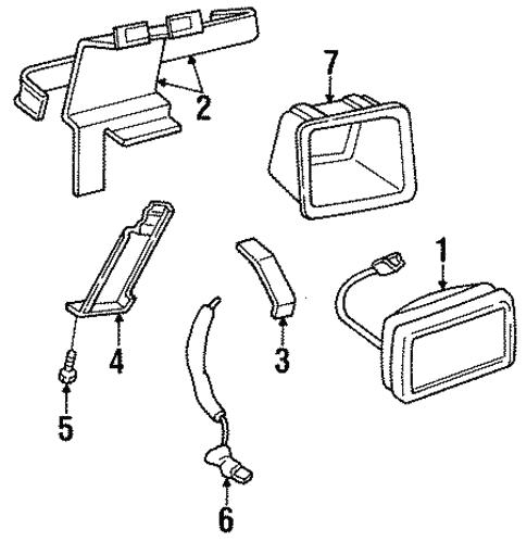 Fog Lamps For 1992 Jeep Wrangler