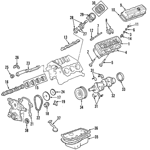 2004 Monte Carlo Parts Catalog