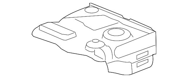 2008 2014 Mopar Shield 4721529ac