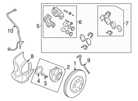 Genuine Hyundai 58112-3M000 Disc Brake Piston Front