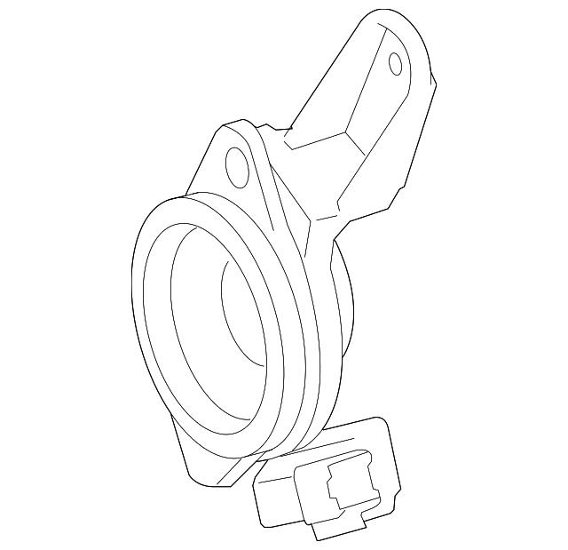 2014 Scion Iq Transmission: Rear Dr Speaker - Lexus (86160-53260)
