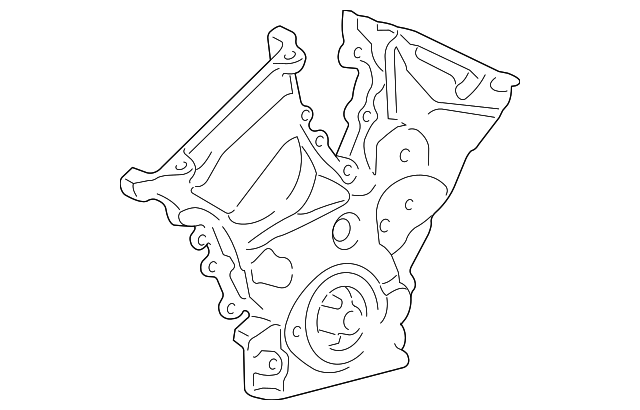 Mercury Mariner Engine Timing Cover
