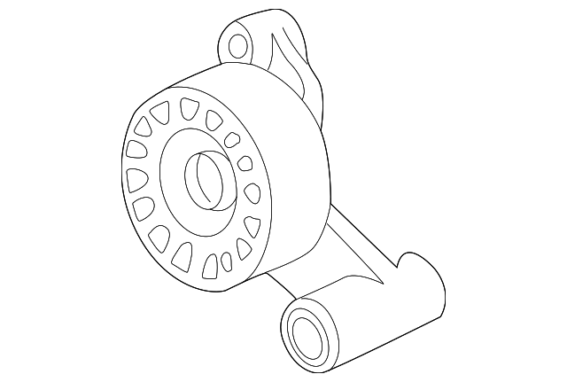 1995 1998 Bmw Tensioner Pulley 11 28 1 704 718