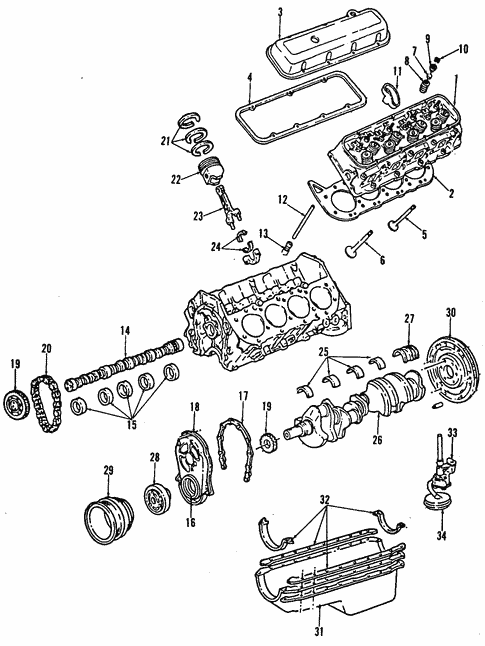 Oem 2001 Chevrolet Silverado 2500 Hd Engine Parts