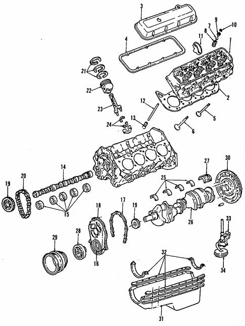 Oem 2006 Gmc Sierra 3500 Engine Parts