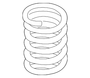 Coil Spring - BMW (31-30-7-838-835)