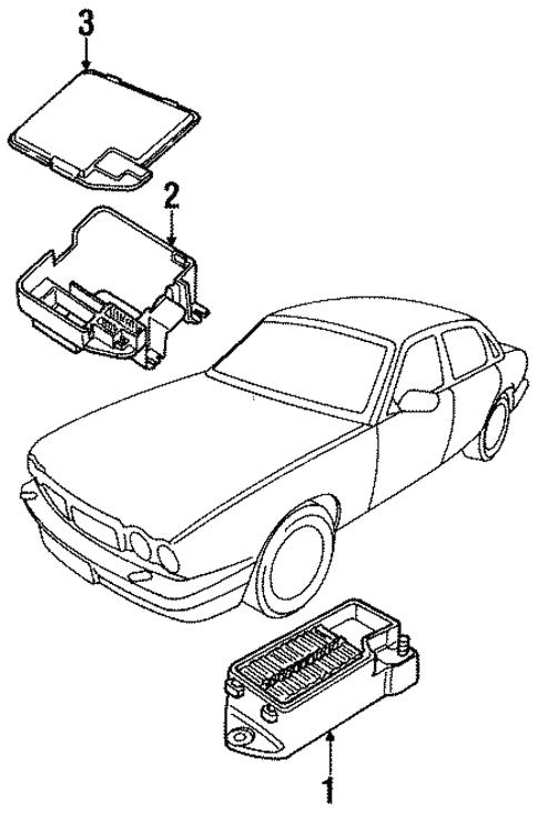 Electrical Components For 1997 Jaguar Vanden Plas