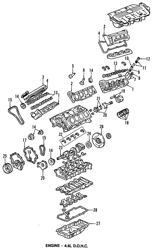 Crankshaft - GM (12565562)
