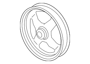 Pulley - GM (12578552)