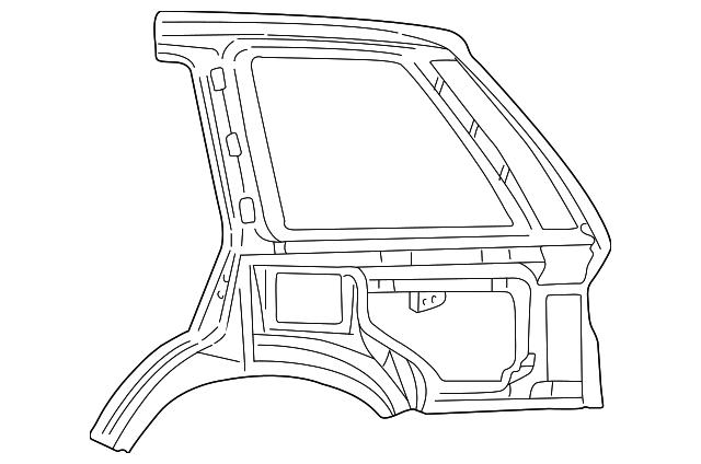 2000 land rover bumper cover
