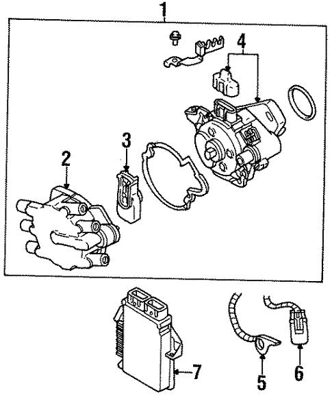 Powertrain Control For 1999 Chrysler Sebring