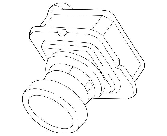 2017 2019 Chrysler Pacifica Rear Camera 68144068ae