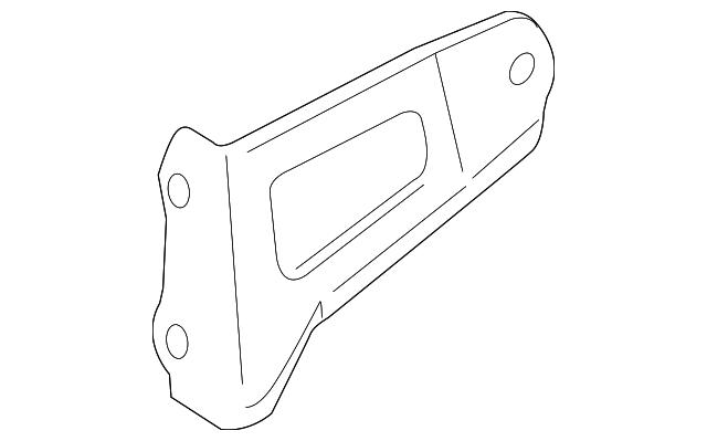 TOYOTA 17118-28080 Exhaust Bracket