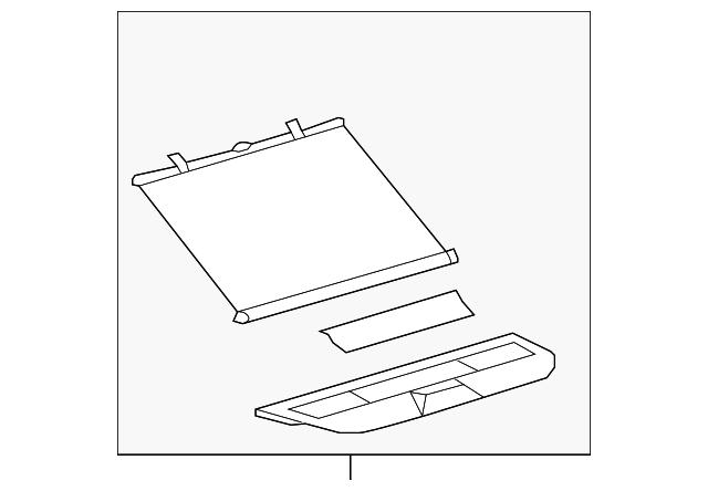 Genuine Hyundai 84750-26502-TI Console Pad Panel Assembly