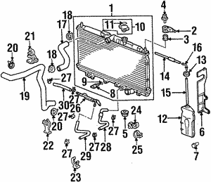 shop oem honda radiators wholesale honda parts S2000 Model radiator p radiator p