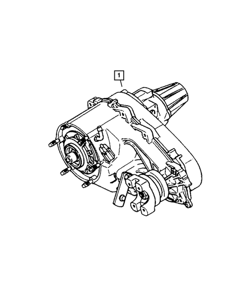 Transfer Case Assembly for 2004 Jeep Grand Cherokee #0