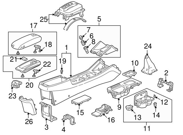 1994 2005 Honda Latch G Sensor 77235 S84 A01