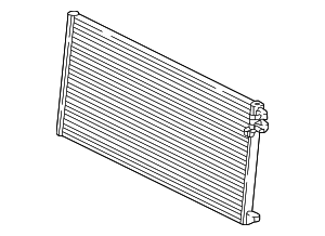 Radiator - Jaguar (J9C20429)